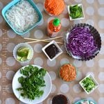 Summer Roll Salad Bowls