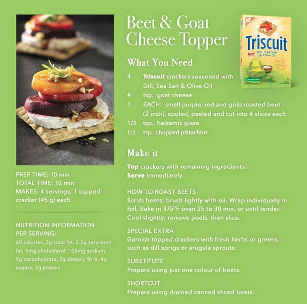 Beet-&-Goat-Cheese-Triscuit