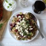 Kasha,-Beet-and-Dill-Salad-{A-Pretty-Life}
