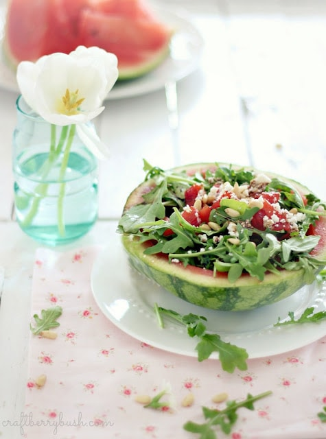 grilledwatermelonsaladwithreducedbalsamicvinagrettecraftberrybush2