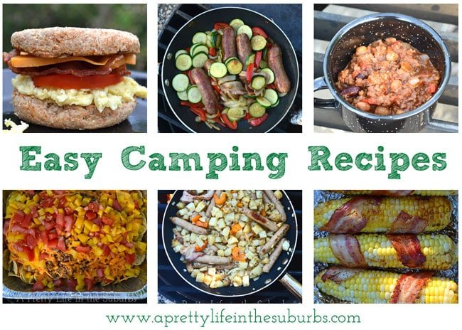 Easy-Camping-Recipes-{A-Pretty-Life}