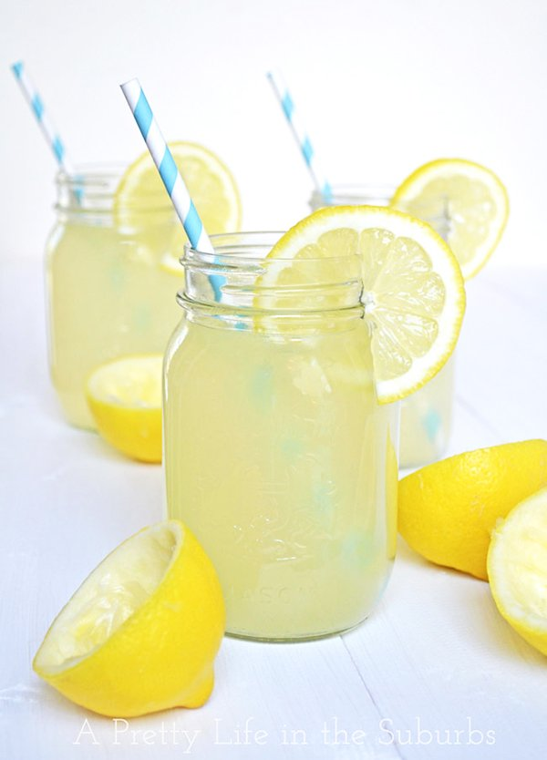 Fresh Real Lemonade A Pretty Life In The Suburbs