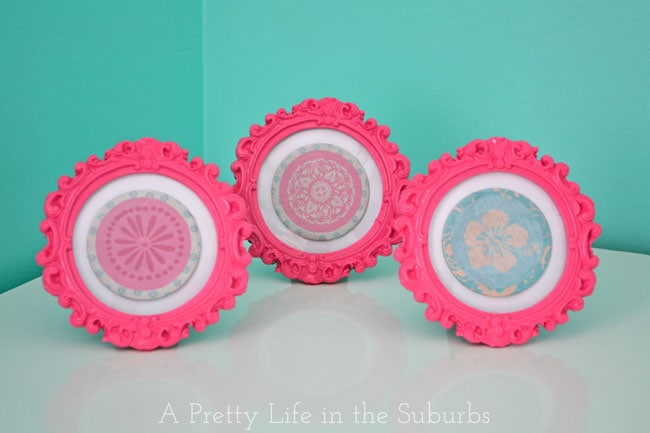 Turquoise & Hot Pink Tween Room {A Pretty Life}