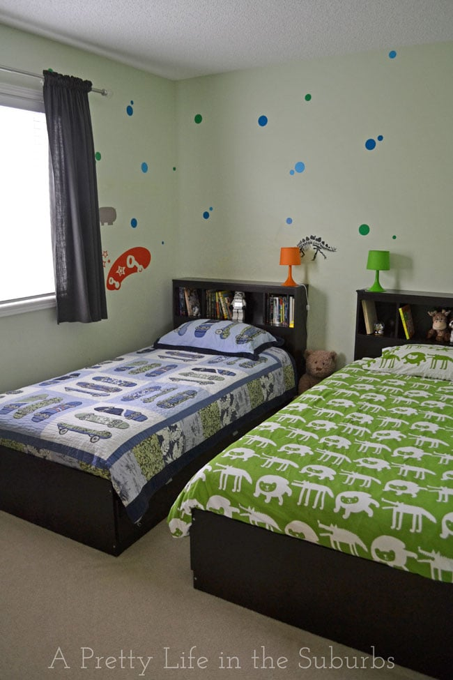 house tour my boys shared bedroom a pretty life in the