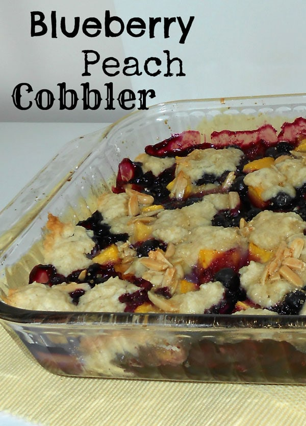Blueberry-Peach-Cobbler
