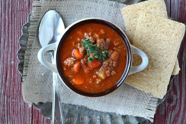 Hamburger Soup: An Easy Weeknight Meal!