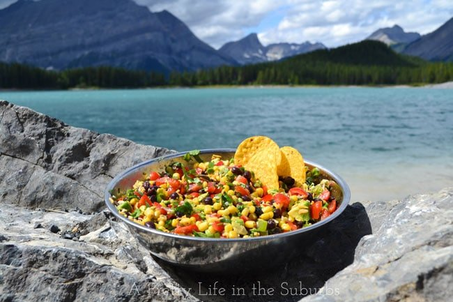 Mexican-Bean-&-Corn-Salad-2{A-Pretty-Life}