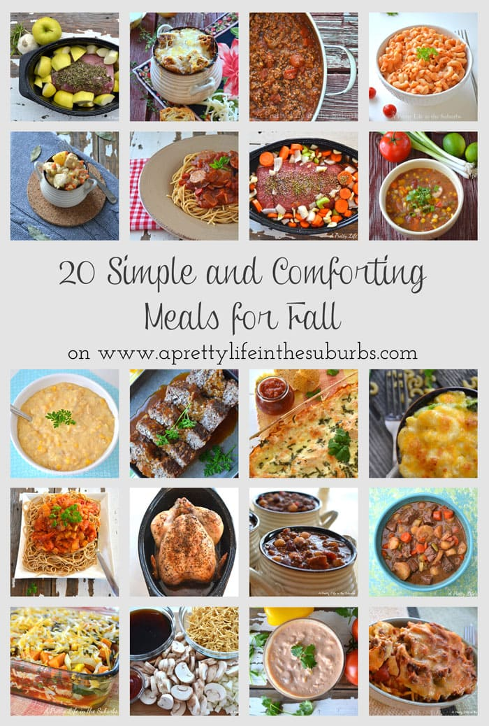20-Easy-Fall-Meals-{A-Pretty-Life}
