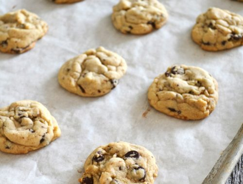 Chocolate Chip Cookies {A Pretty Life}F