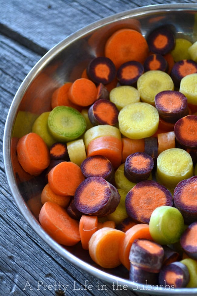 Glazed Carrots {A Pretty Life}