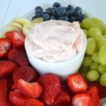 Strawberry Fluff Fruit Dip {A Pretty Life}Feature