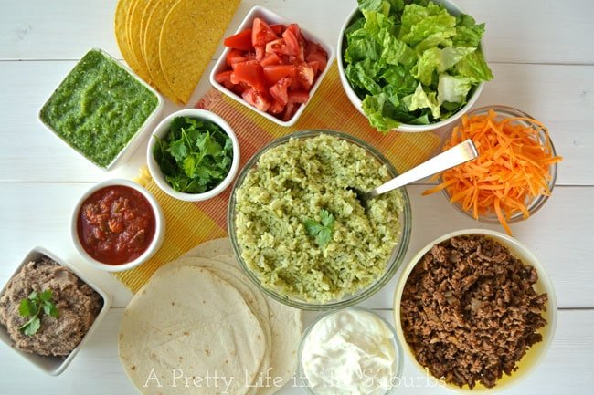 Taco-Night-Menu-{A-Pretty-Life}