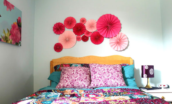 headboard-and-paper-wheels