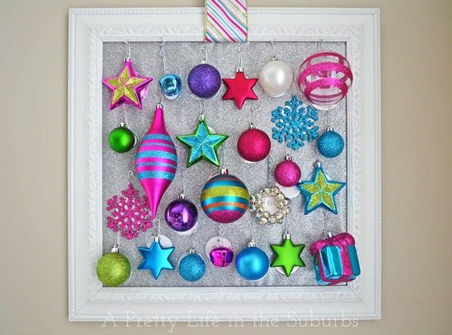 DIY Ornament Advent Calendar {A Pretty Life}
