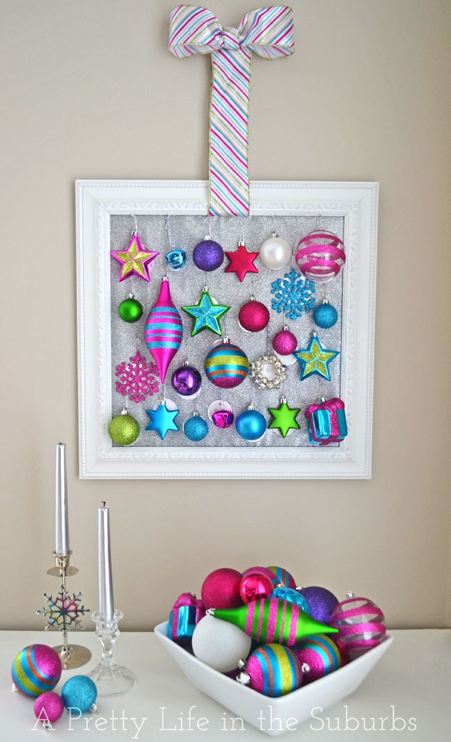 DIY Ornament Advent Calendar {A Pretty Life}