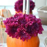 Pretty Pumpkin Flower Arrangements
