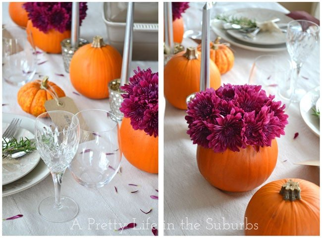 Thanksgiving Table {A Pretty Life}