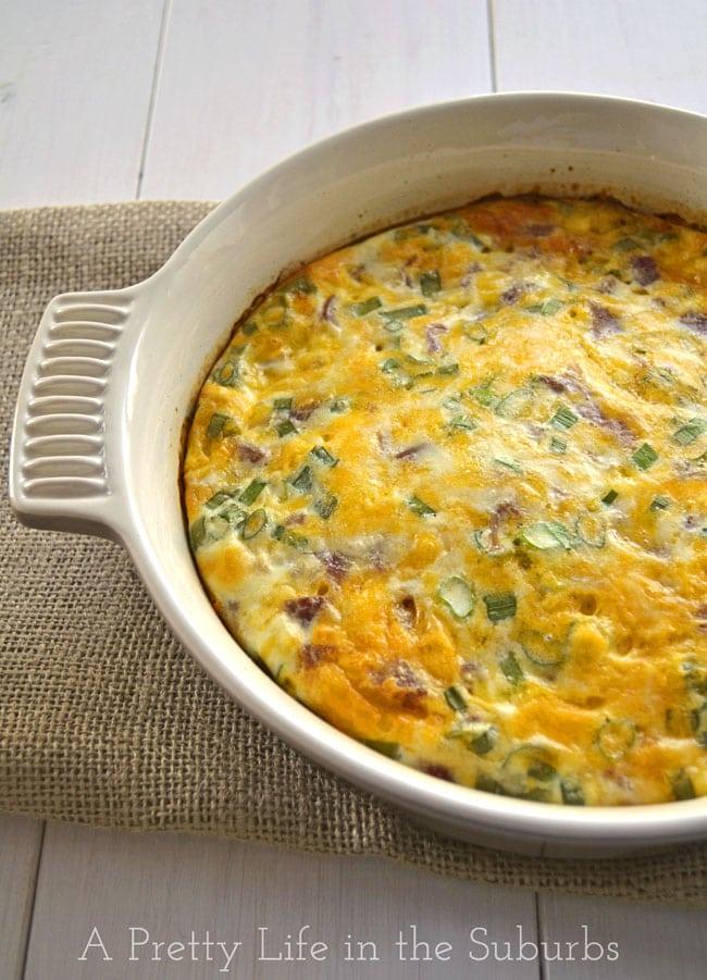 Crustless Quiche, Frittata, Eggs Recipes — Dishmaps