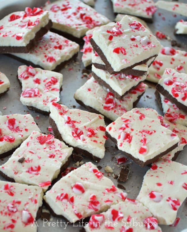 Peppermint Bark {A Pretty Life}