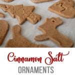 Cinnamon Salt Ornaments