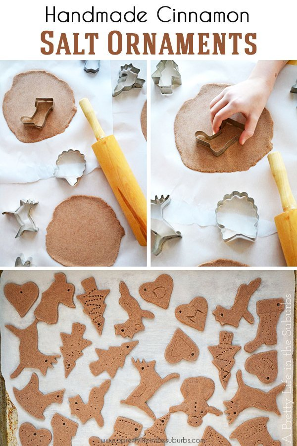 Handmade Cinnamon Salt Ornaments