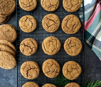 Soft & Chewy Ginger Cookies-1