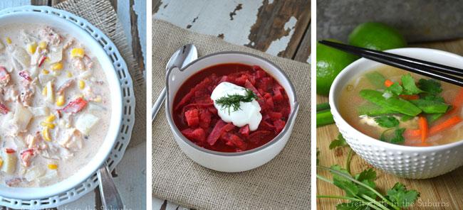 Soups  {A Pretty Life}