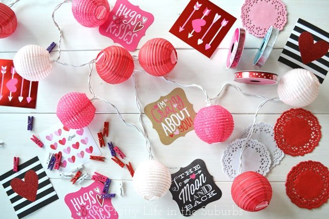 Easy-Valentines-Love-Garland-{A-Pretty-Life}