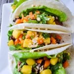 Spicy Orange Beef Tacos