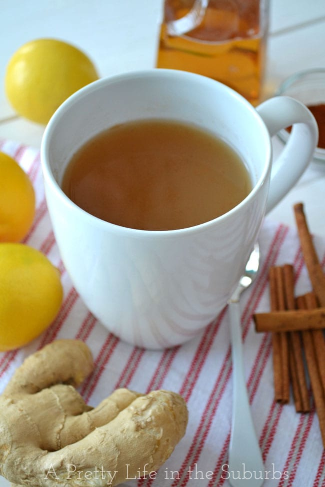 Home-Made-Ginger-Tea-{A-Pretty-Life}