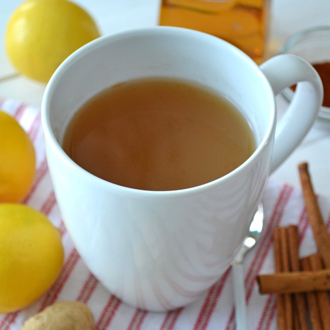 A mug of hot Ginger Tea