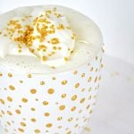 DIY Gold Polka Dot Mug