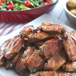 Honey-Garlic-Chicken-Wings-{A-Pretty-Life}