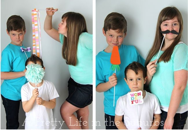 Easter Photo Booth {A Pretty Life}