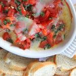 Baked-Cheesy-Tomato-Caprese-Dip-2a{A-Pretty-Life}