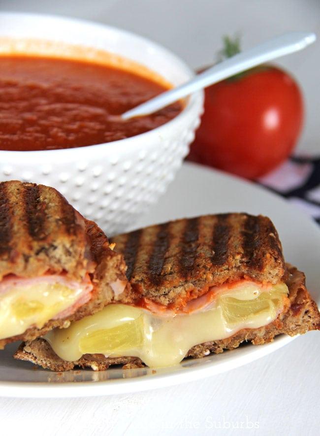 Hawaiian Grilled Cheese {A Pretty Life}