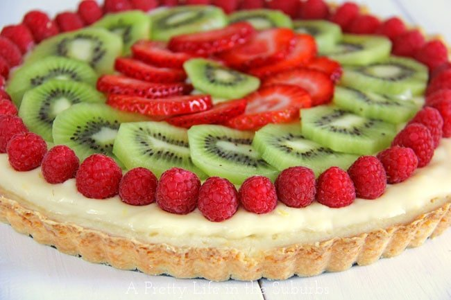 Lemon-Cream-Fruit-Tart-4{A-Pretty-Life}
