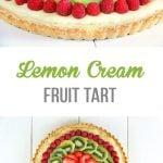 Lemon Cream Fruit Tart Recipe