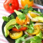 Avocado Tomato Salad Recipe