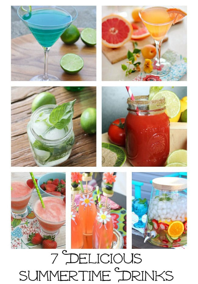 7 Delicious Summertime Drinks