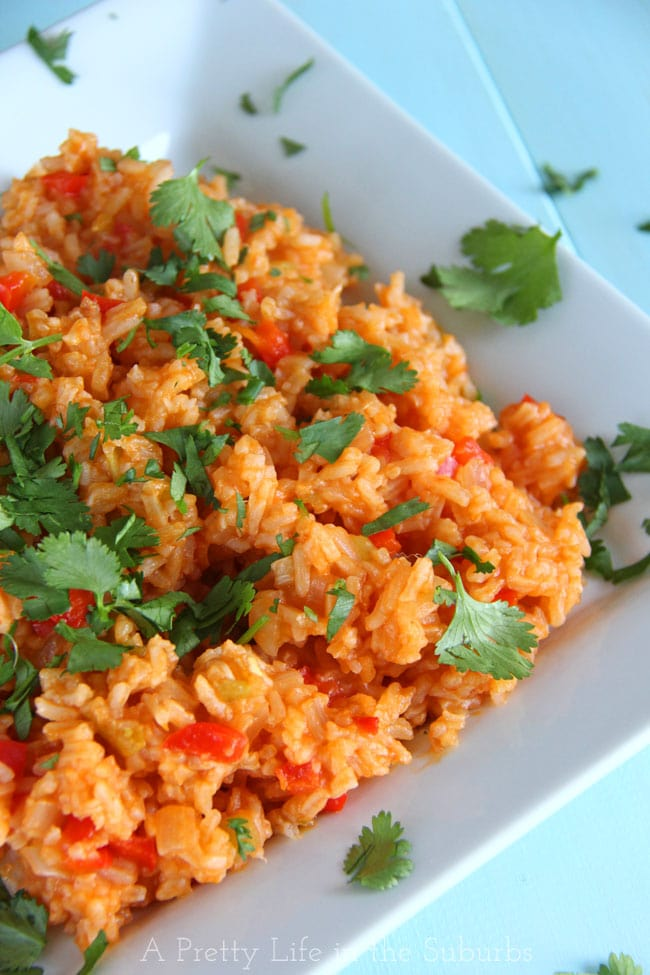 Mexican-Rice-{A-Pretty-Life}