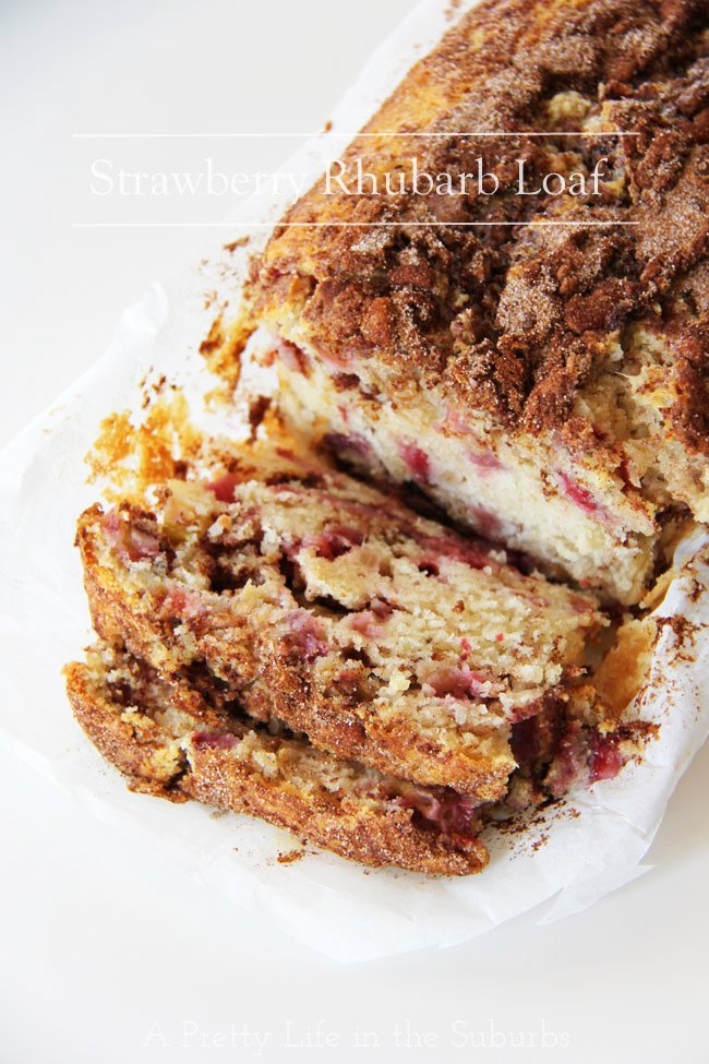 Strawberry Rhubarb Loaf