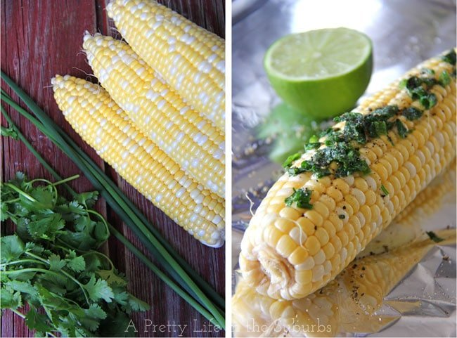 Corn-on-the-Cob-with-Herb-Butter-&-Lime-2{A-Pretty-Life}