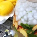 Ginger and Peach Flavored Waters