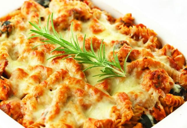 Baked-Rosemary-Chicken-Pasta