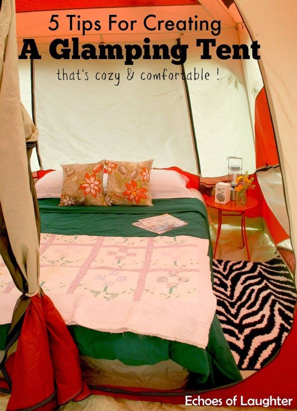 Glamping Tent by Echoes of Laughter