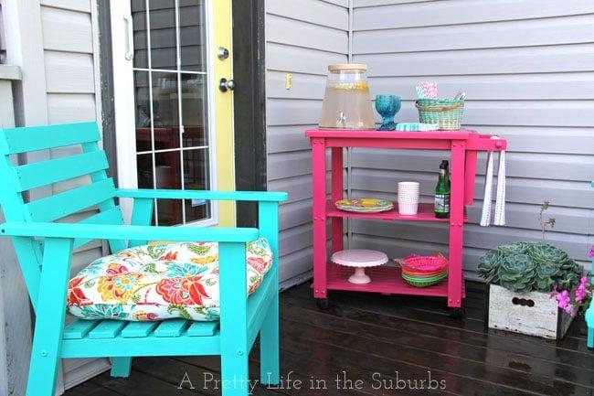 Putting Together a Hostess Cart {A Pretty Life}