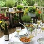 Outdoor Summer Garden Party