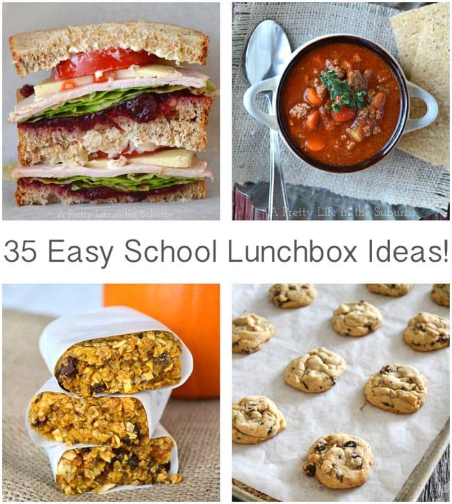 35 Easy School Lunch Box Ideas