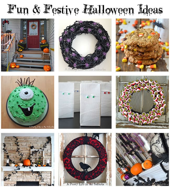 Fun & Festive Halloween Ideas {A Pretty Life}